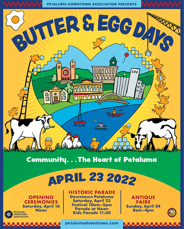 No event in 2021  Next Butter & Egg Days April 23, 2022