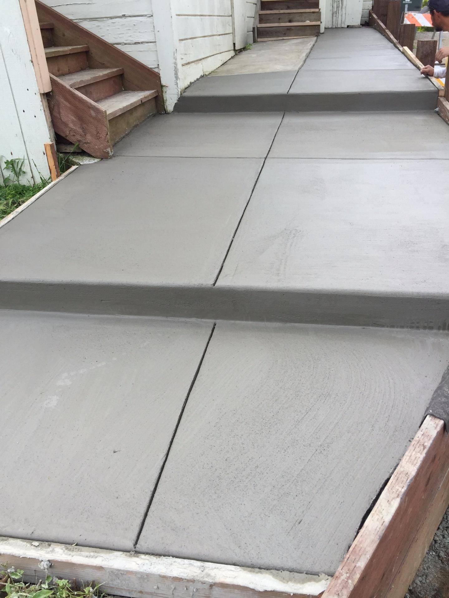 Concrete walkway Vallejo, CA