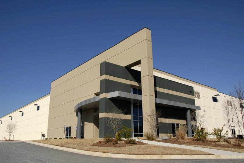 Modern distribution center