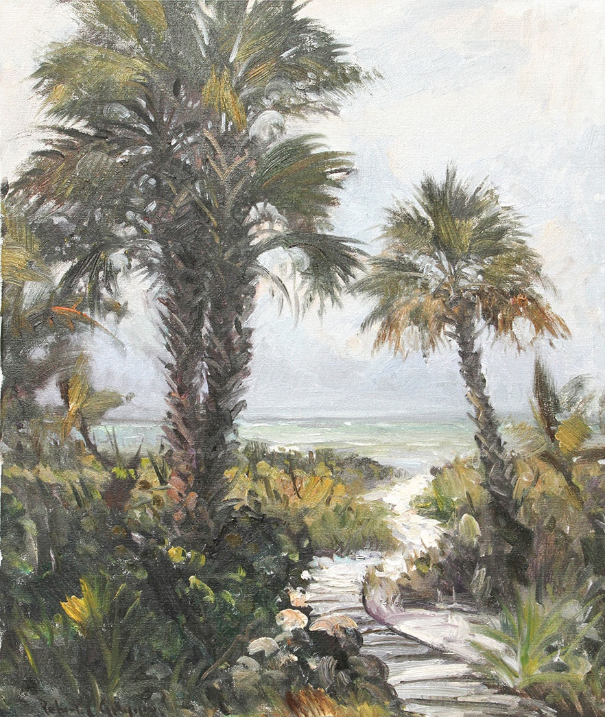 Beach Path 25x30