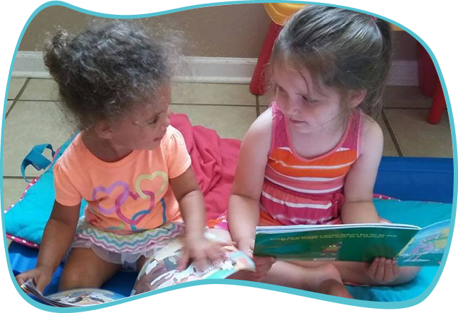 Daycare Center Reading Time