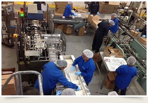 Packaging Specialists at Work