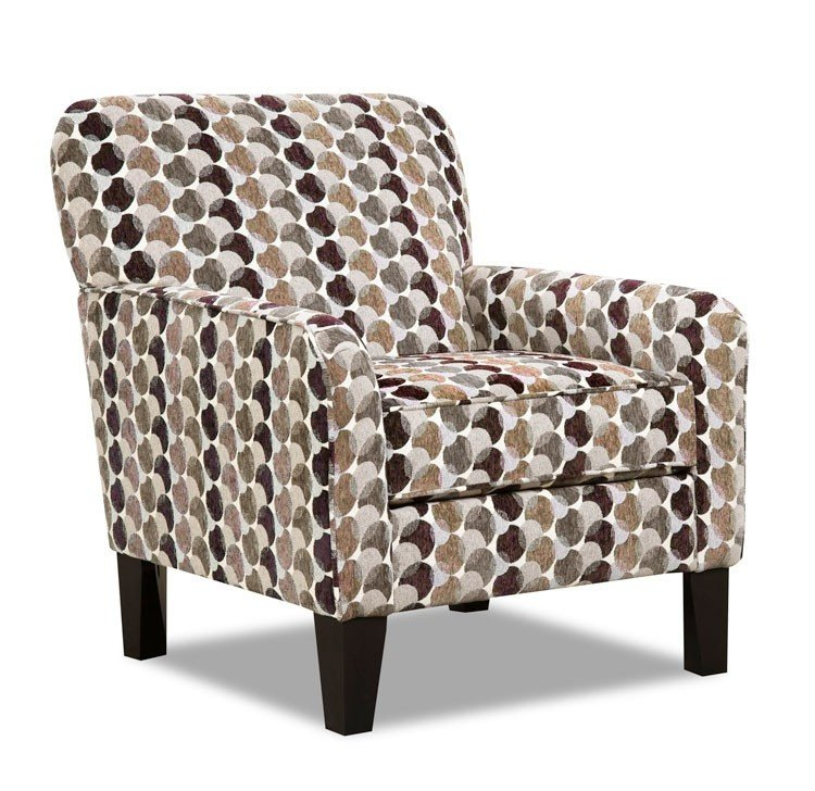 2160 Accent Chair Bubbles Coffee