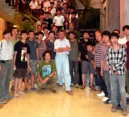With  students - Huian, China- 2011