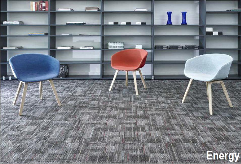 Las alfombras en baldosas o modulares son prácticas, fáciles de instalar,  mover y reemplazar