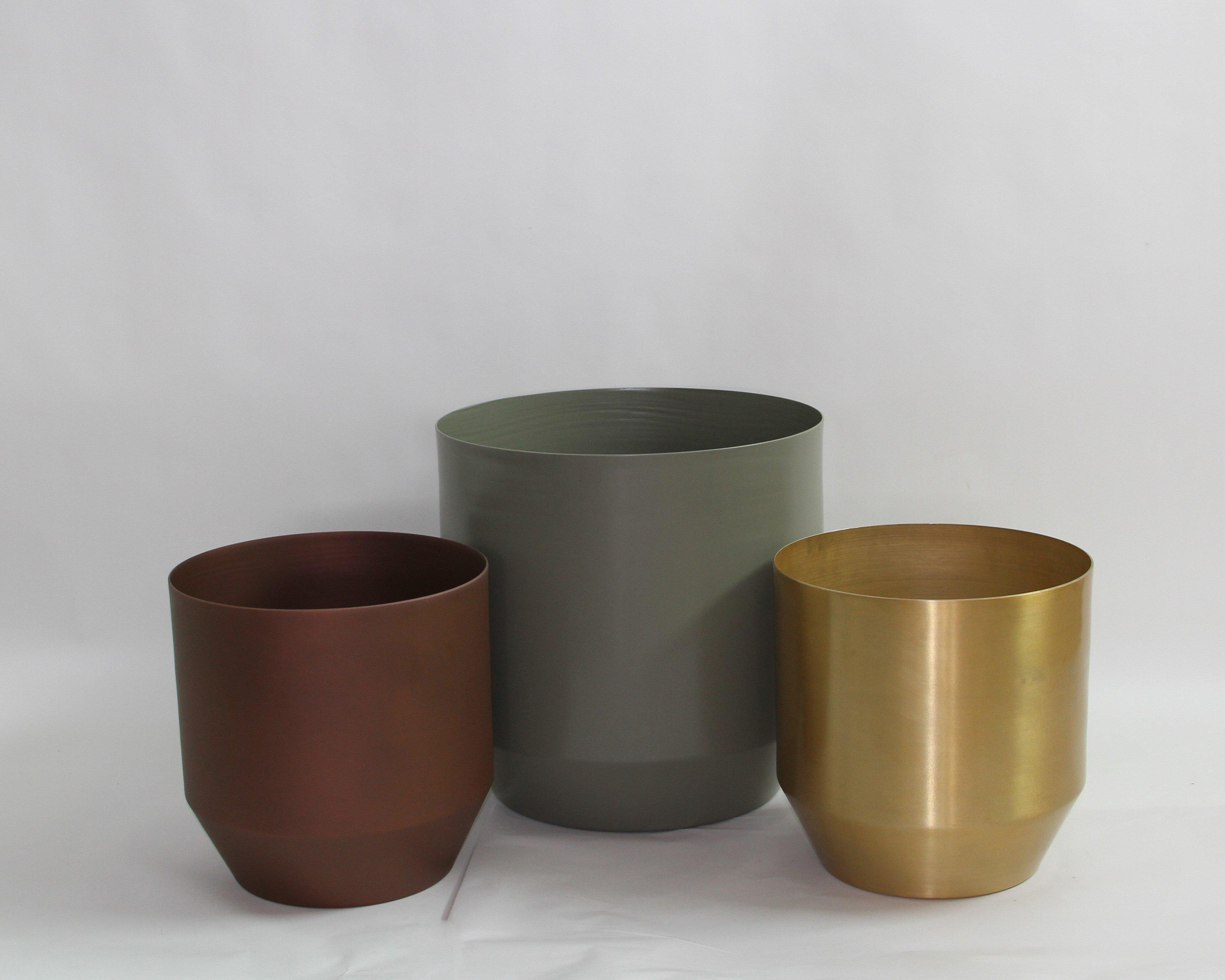 Custom Drum Planters