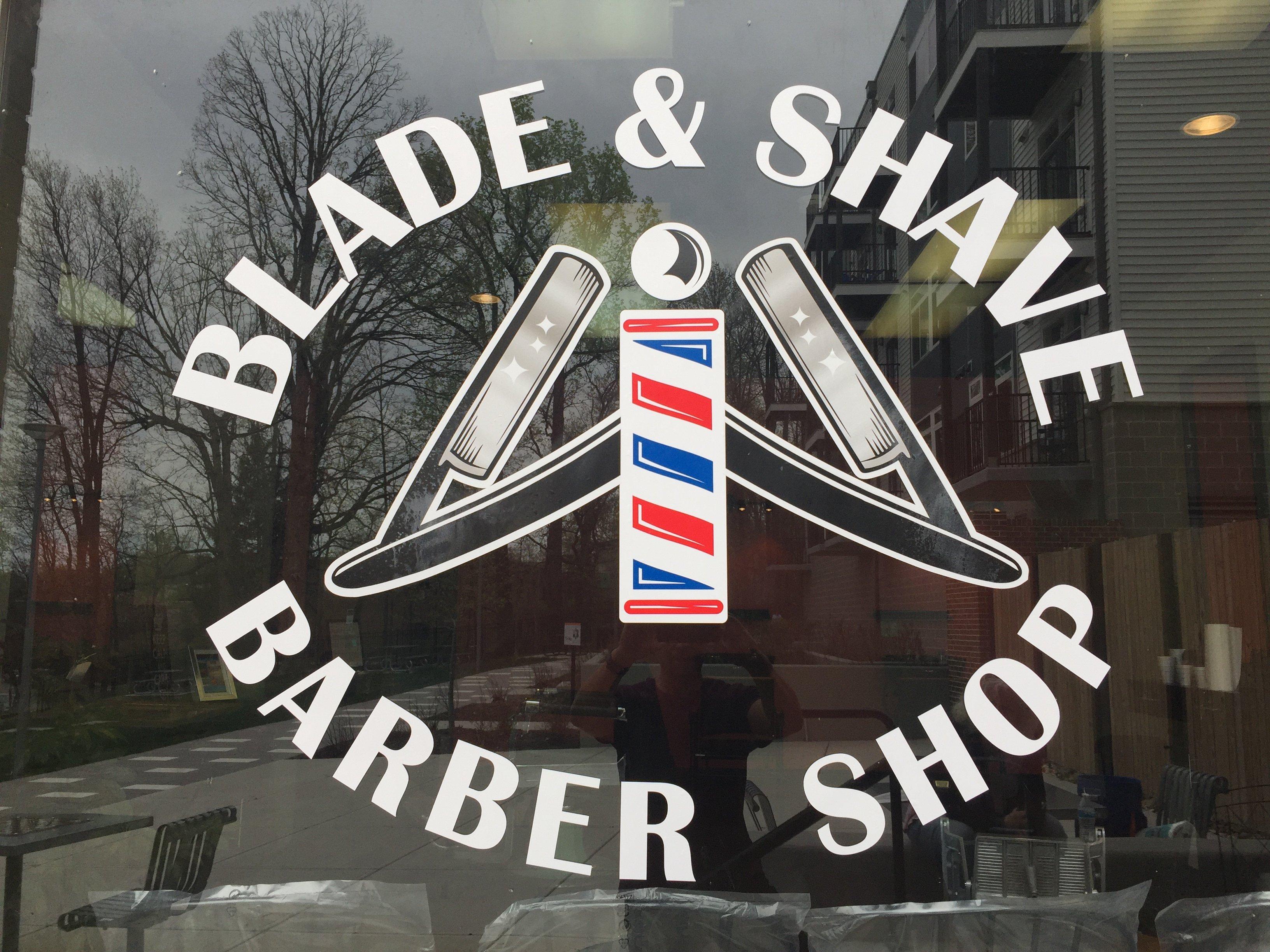 Barber Shop Window
