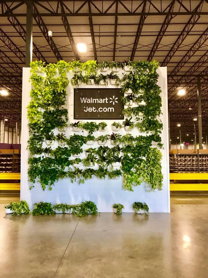Walmart Jet.com Living Wall Build 3