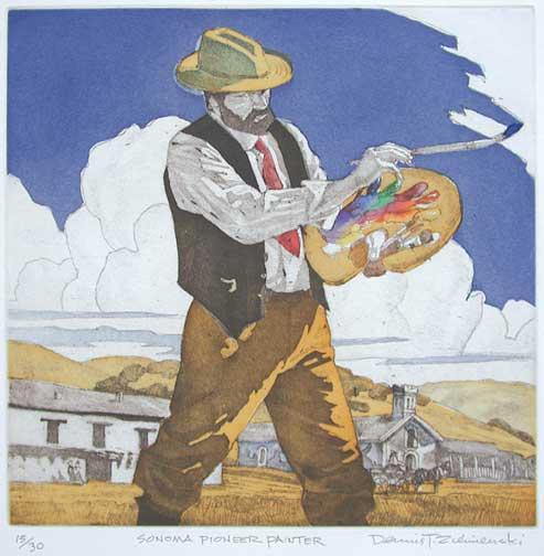 Dennis Ziemienski, Sonoma Pioneer Painter