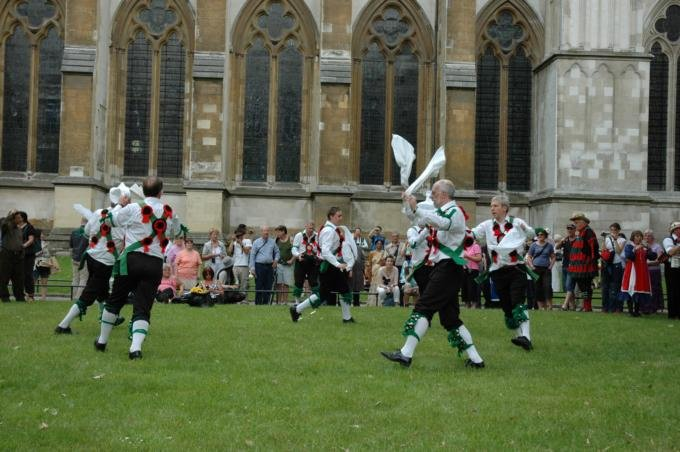 Greensleeves outside Westminster Abbey