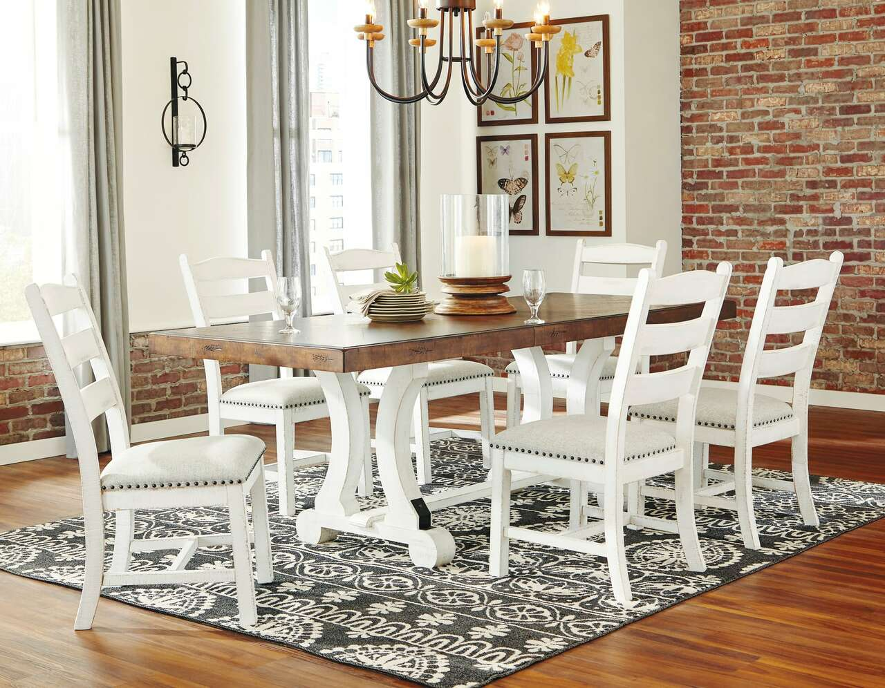 Valebeck 7 Piece Dining Set by Ashley Home D546DR