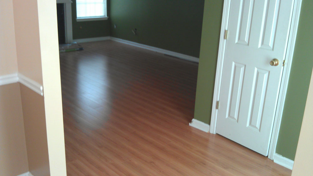Completed Hardwood Service