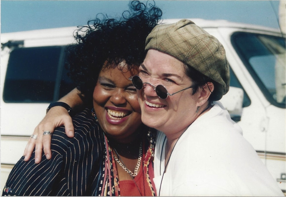 Leticia Walker and Lea Delaria