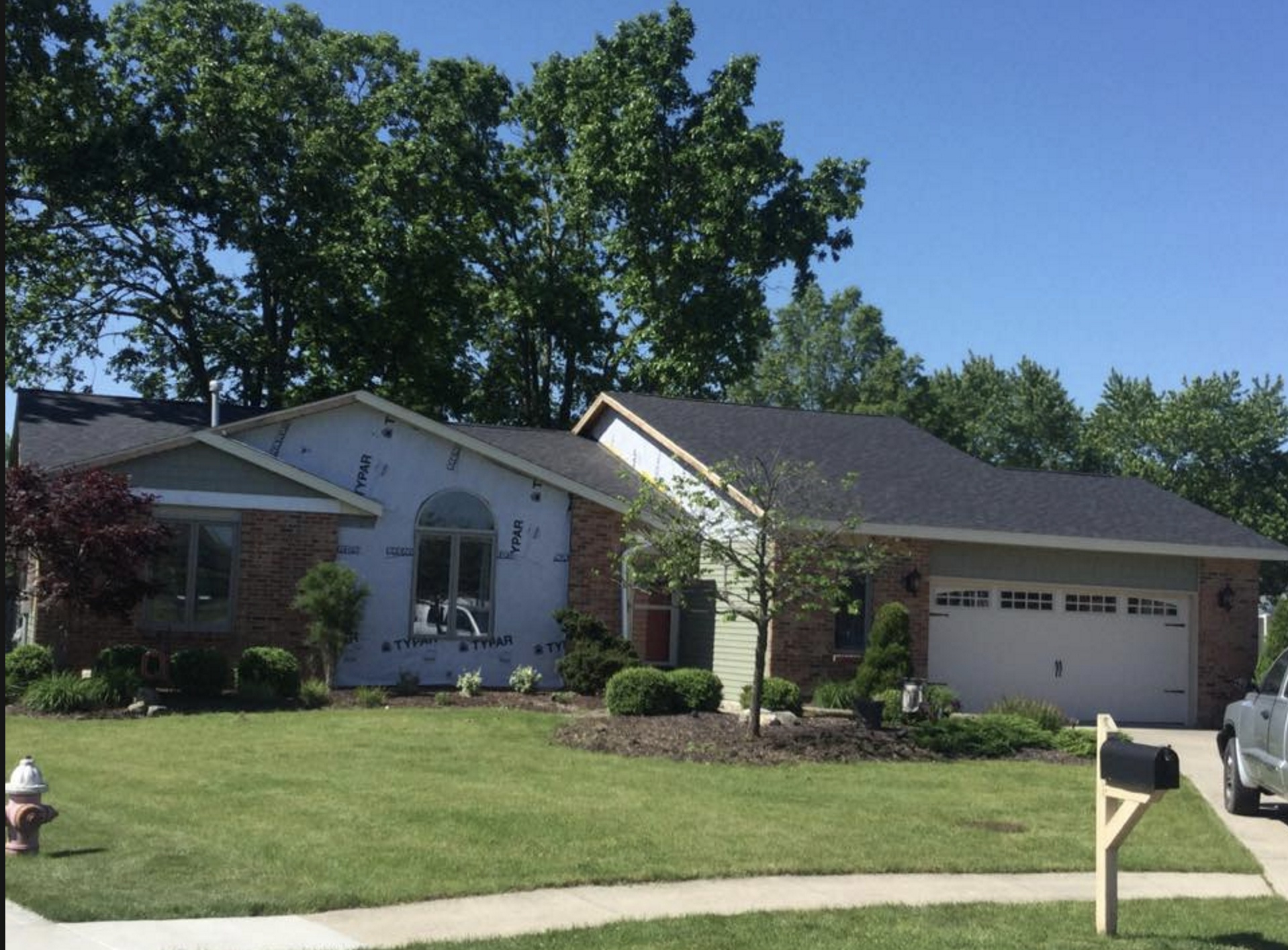 6/1/2017 Defiance, Ohio completed in Black Shingles