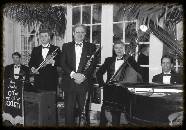 Don Neely's Swingtet at the Palace Hotel in San Francisco.