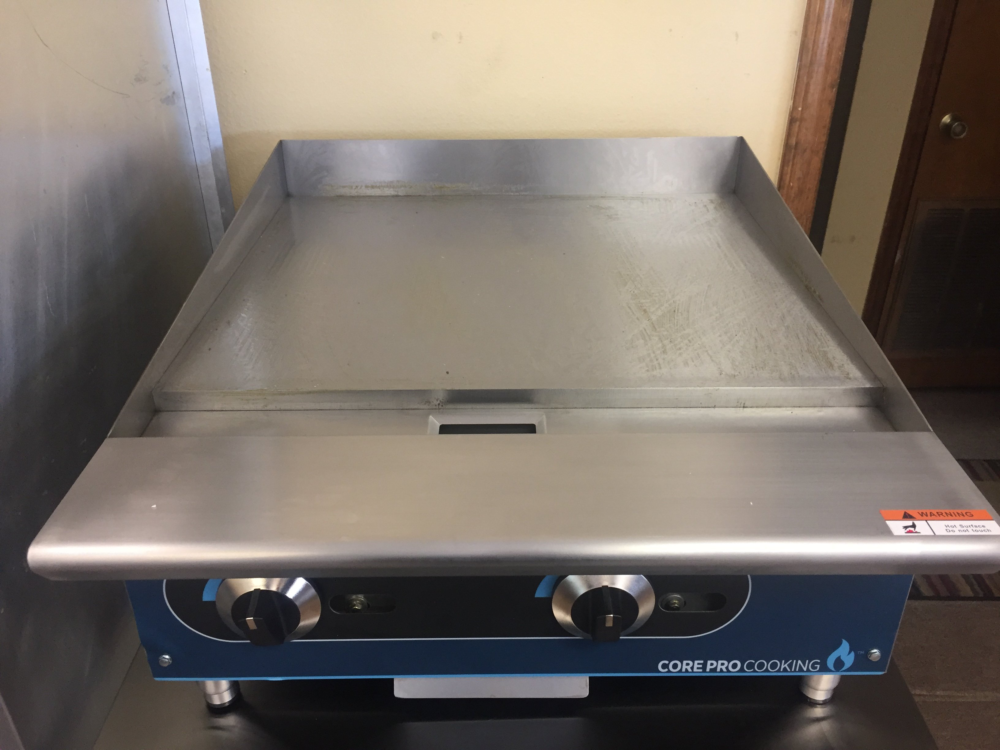 New Cor Pro Cooking Equipment   Manual Griddle Starting @ $620 and Up  Model # CP-G24-M Model # CP-G36-M Model # CP-G48-M Model # CP-G60-M