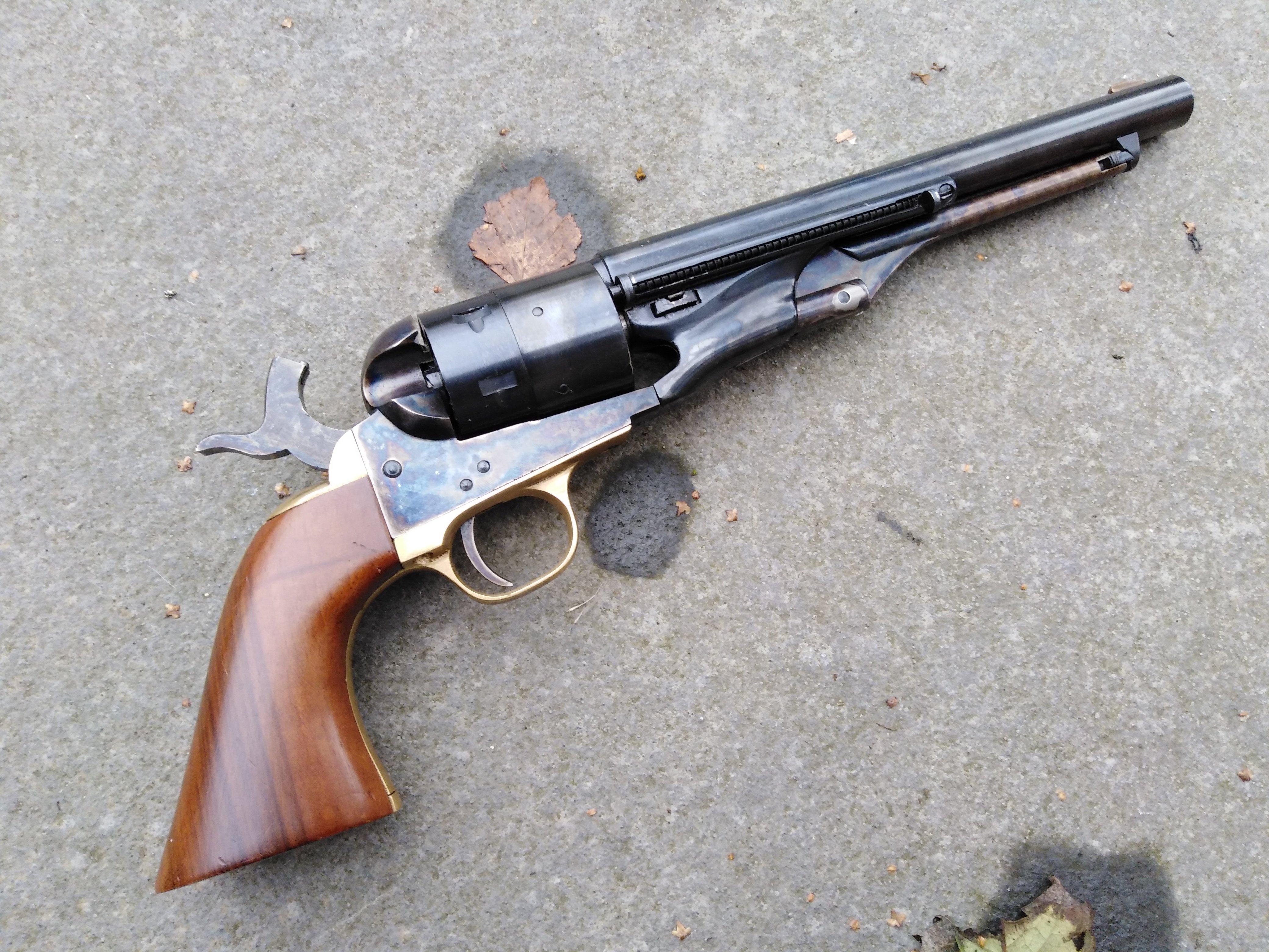 "Pietta Colt 1860 ""cartridge Conversion"""