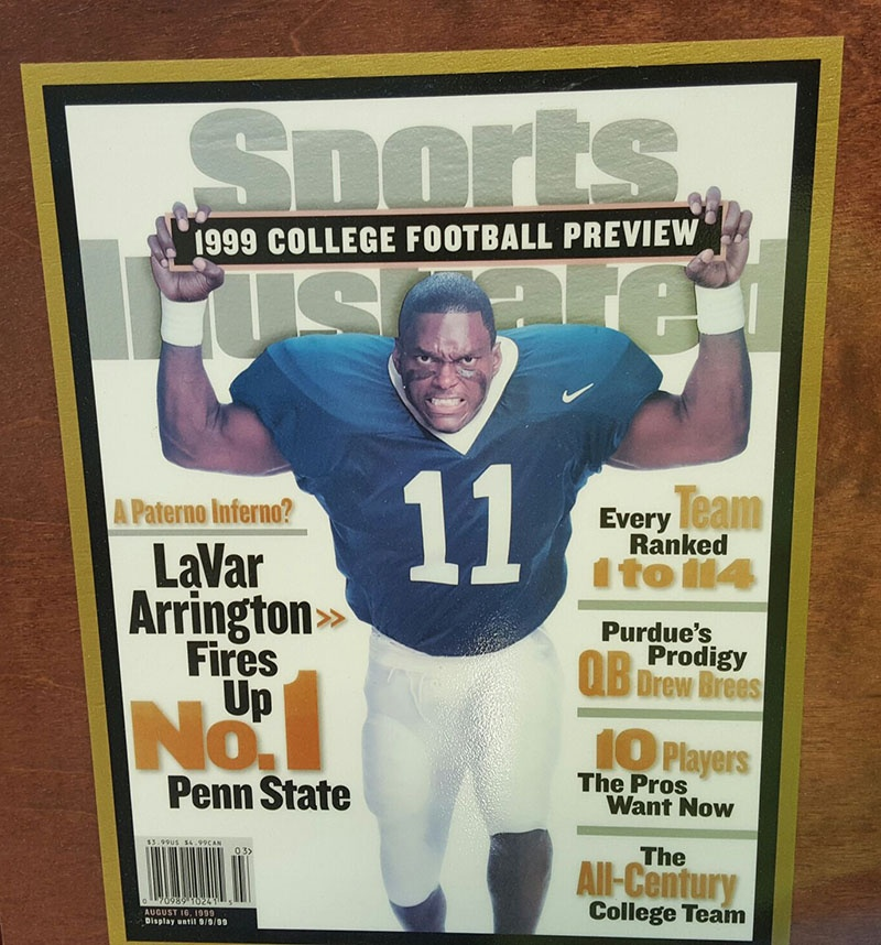 LaVar Arrington on Sports Illustrated