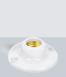 """SY-505 Portalámpara Porcelana 1/2"""""""