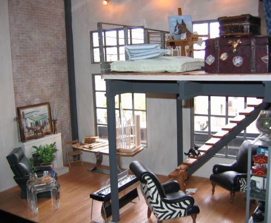 City Loft Furnished by the Collector