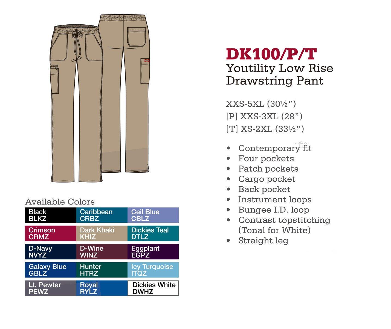 Pantalón con Cordones Youtility. DK100/P/T.
