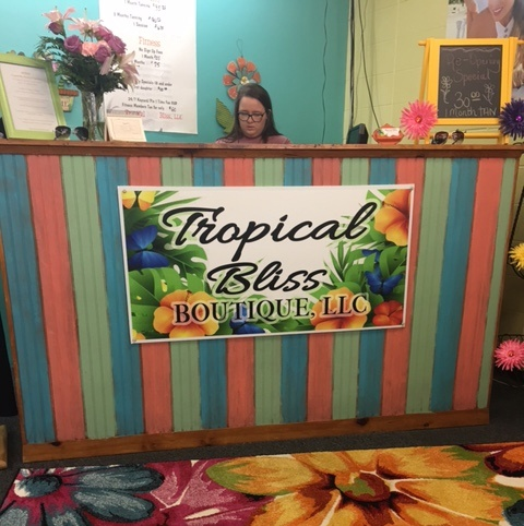 Tropical Bliss Boutique Store Front