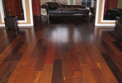 Wooden floor installation service in the Alpharetta, Georgia area