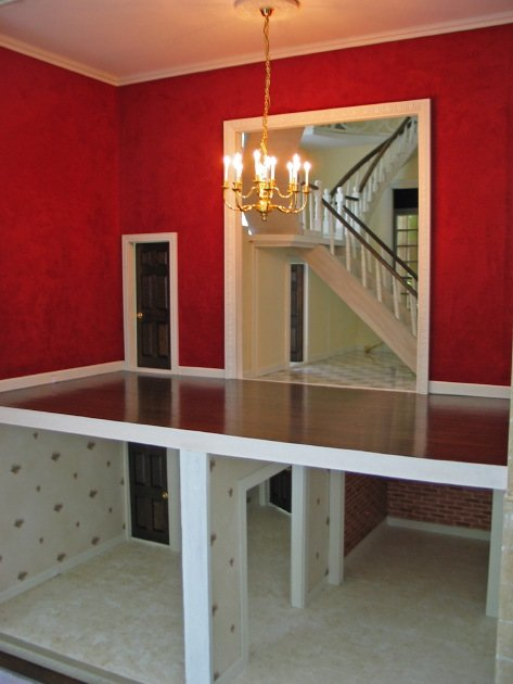 Dining Room Kitchen, Pantry, Cellar