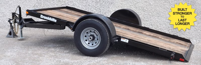 6' x 10' Tilt Trailer (3500lb max) w/o equip $60/day $180/week w/ equp $25/day $75/week
