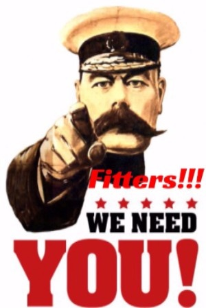 Register Here Today to join our army of Fitters!