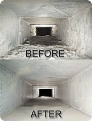 Before And After Air Duct Cleaning
