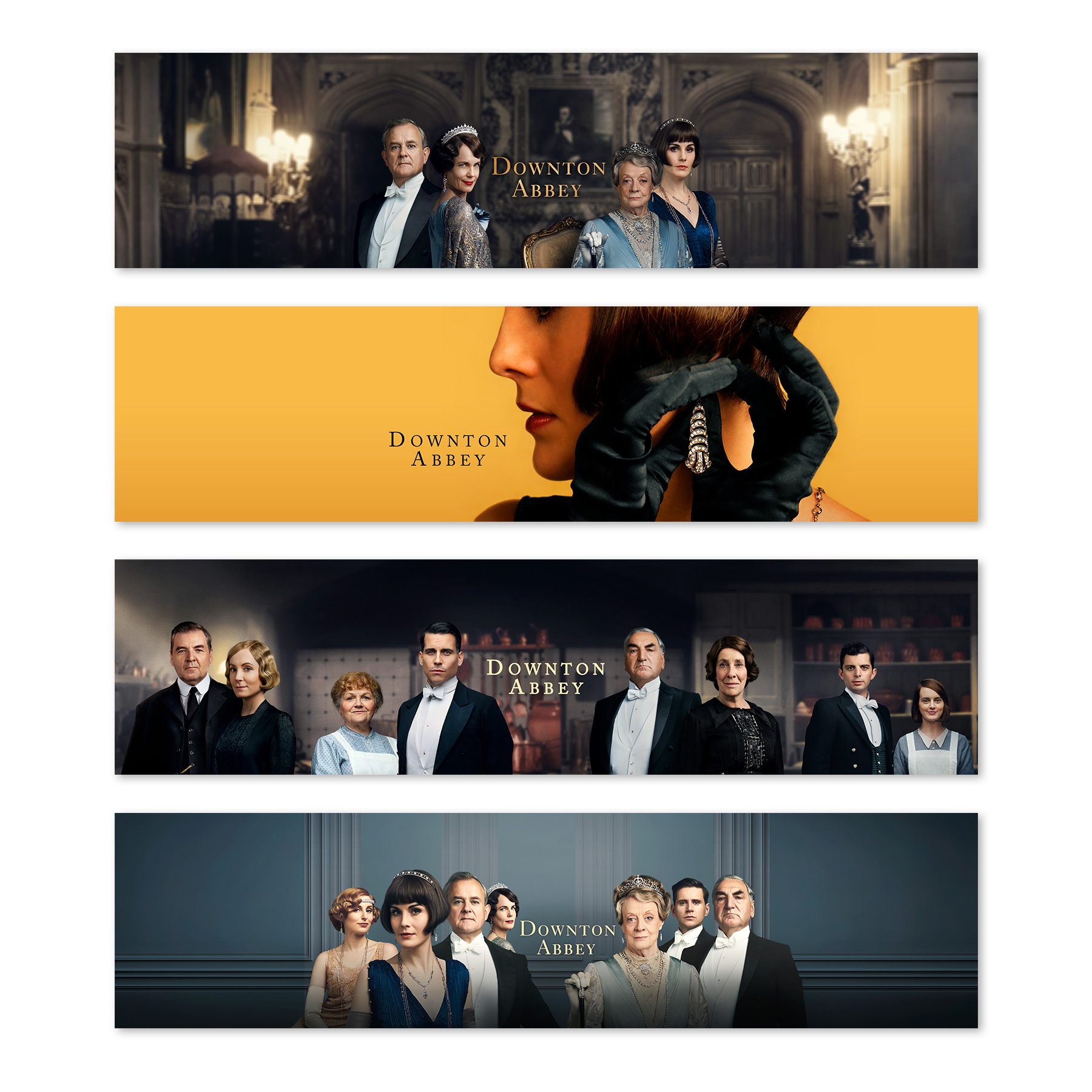 Downton Abbey iTunes Ads
