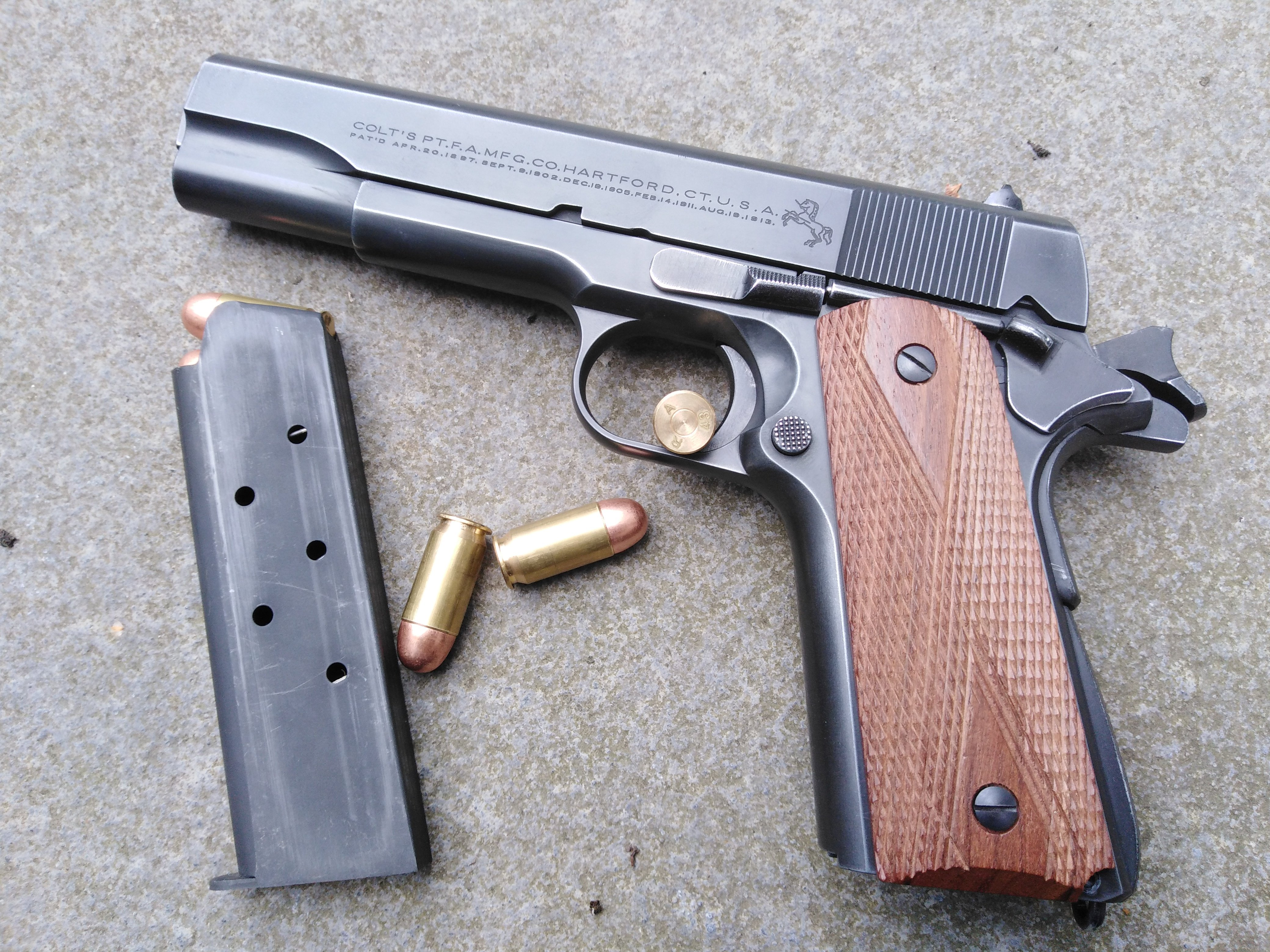 1911 EJERCITO ARGENTINO colt 45 cal model 1927