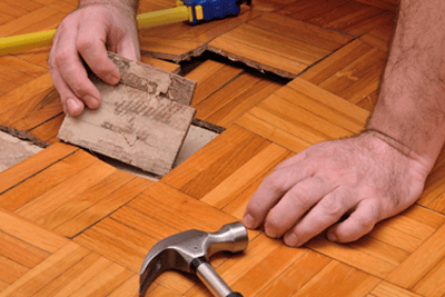 Fixing Damaged Floor