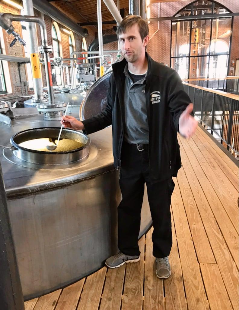 Tommy G explains fermentation - Angel's Envy Angel's Envy Distillery