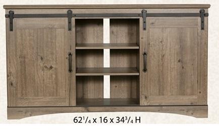 22622 Barn Door TV Stand
