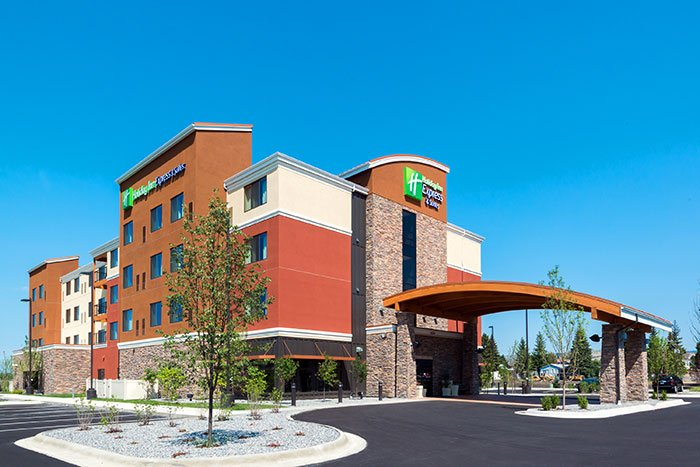 Holiday Inn Express. Butte, MT.