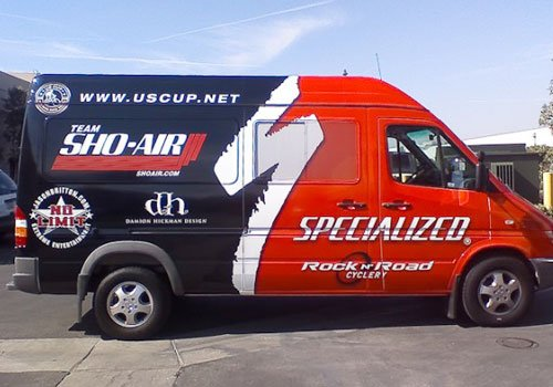Vinyl Wrap for Service Van