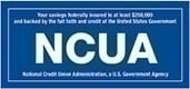 NCUA Insurance Label $250K