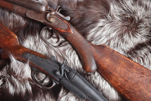 Old Hunting Shotguns
