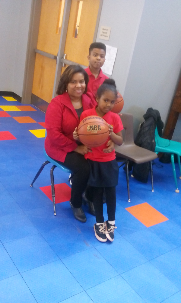 Family Donated NBA Basketballs and Sponsorship