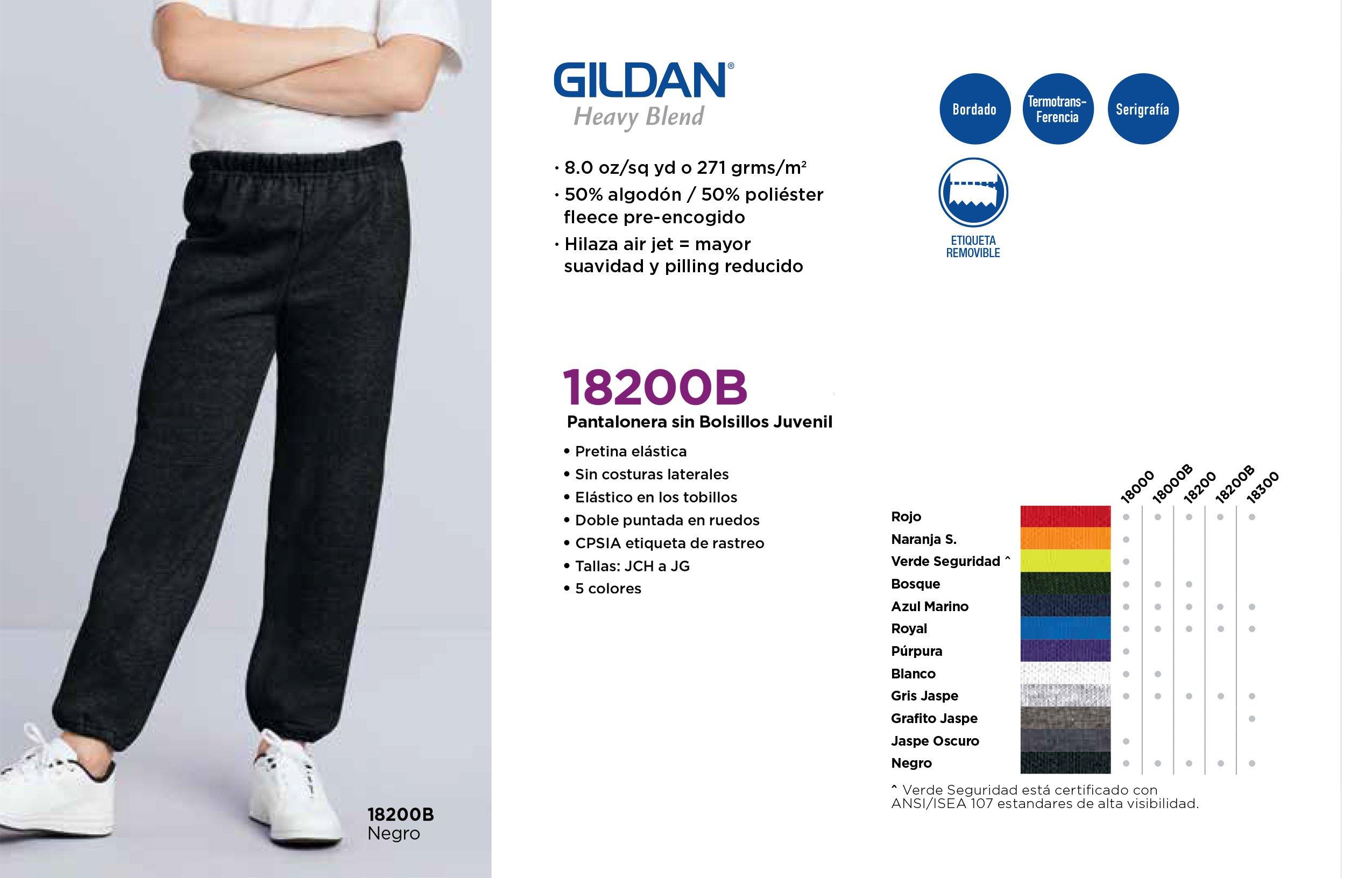 Pantalonera Sin Bolsillos Juvenil 18200B