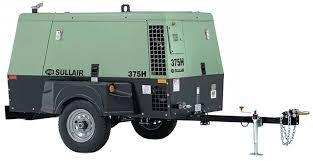 Compresor Sullair  (T3) 375 CFM Motor Caterpillar CAT 4.4 A 125PSI ,Equipo Nuevo ¡ENTREGA INMEDIATA!