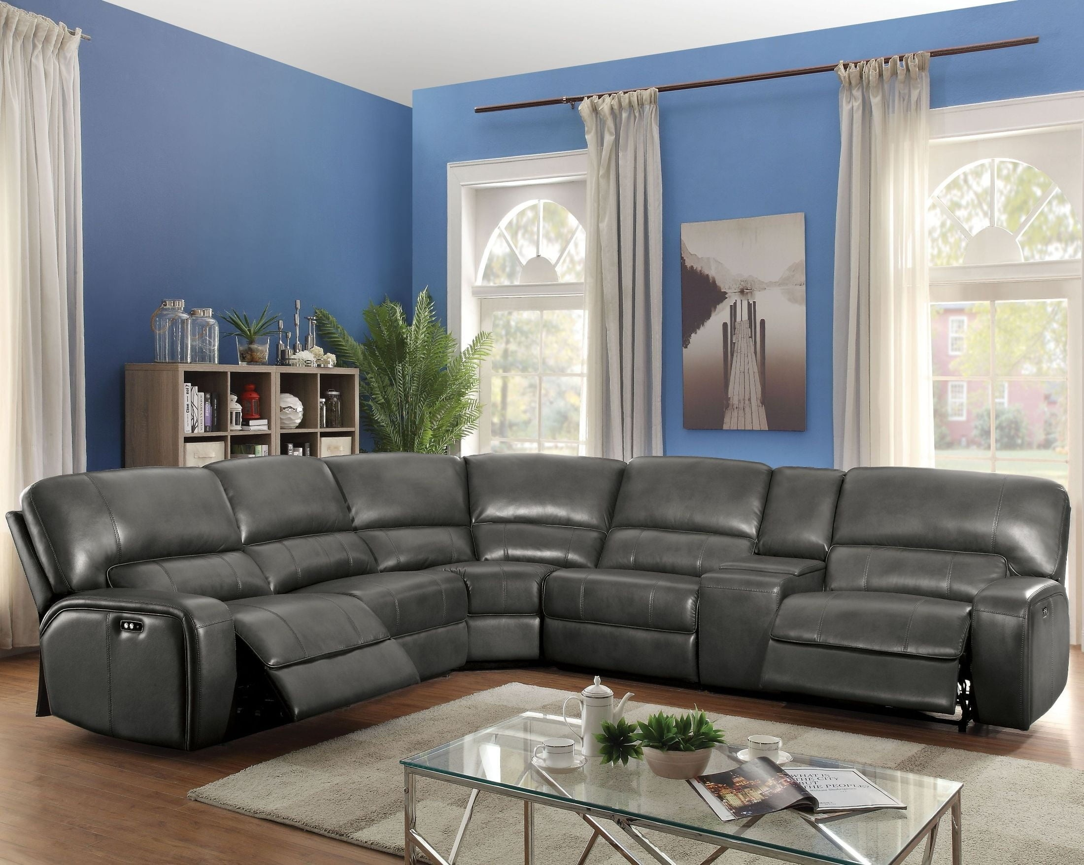 (53745) Saul Reclining Sectional Available In 3 Colors