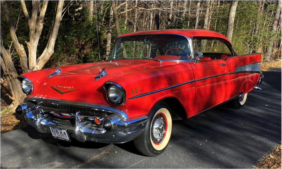'57 Chevy - beautifully restored