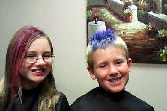 Halloween hair 2009