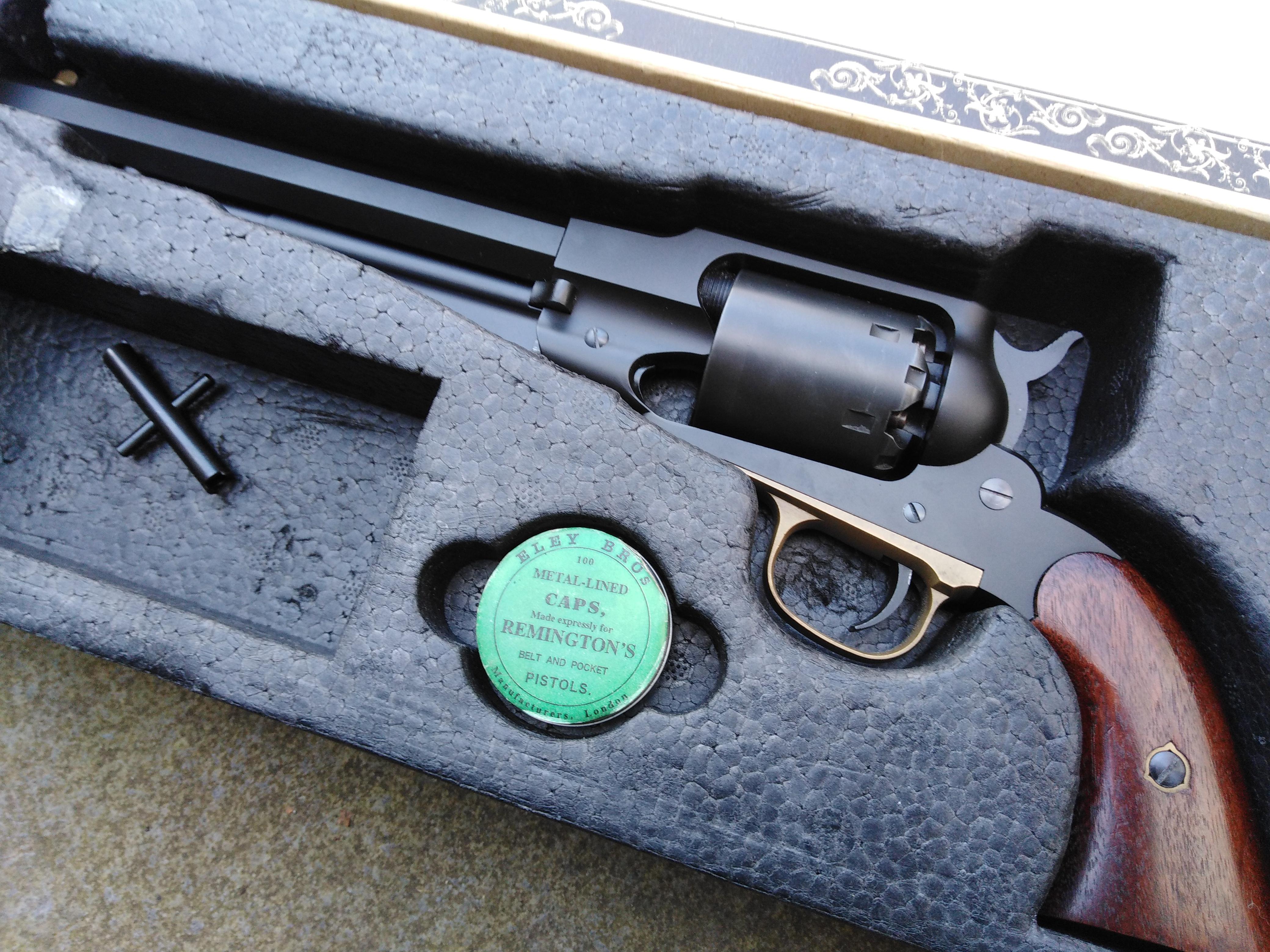 CAW PFC Firing Remington New Model Army
