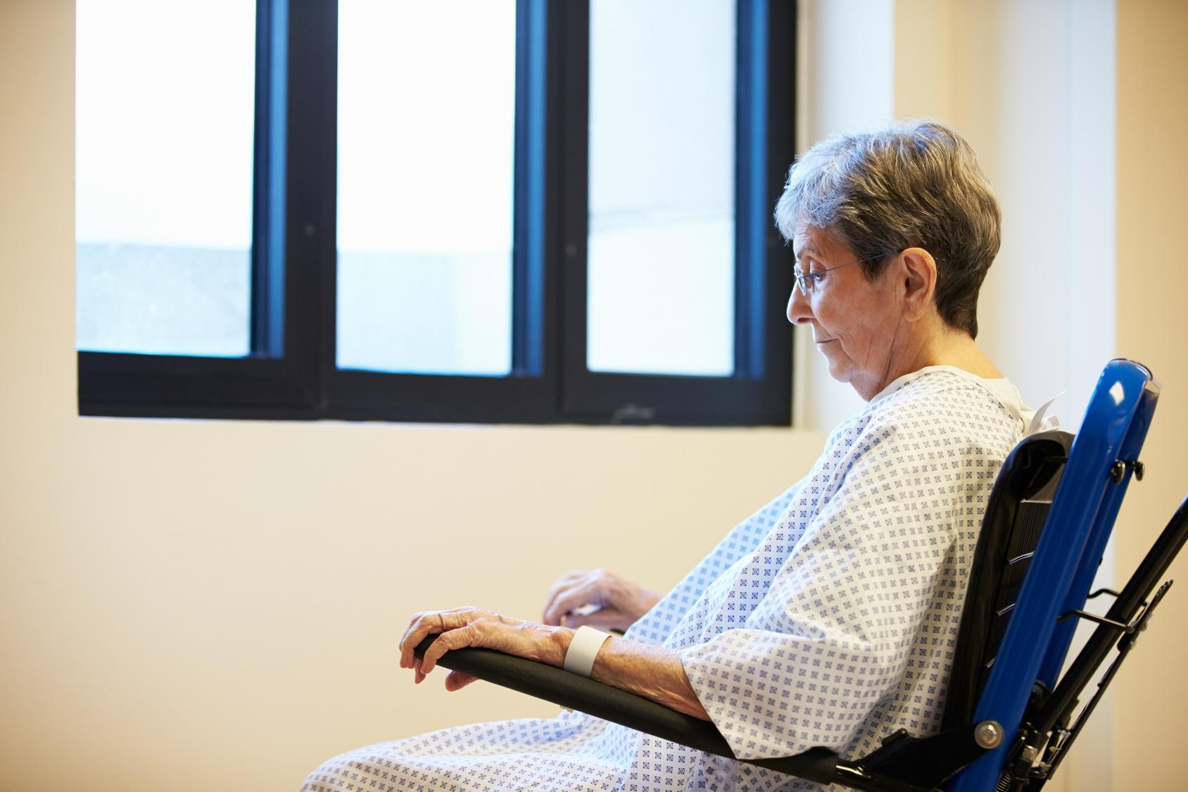 Worried patient