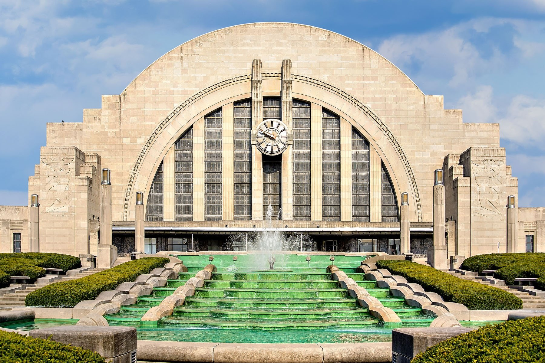 UNION - To us of the older generation, this will always be known as Union Terminal. To those with fewer years to their credit, it is referred to as the Museum Center.