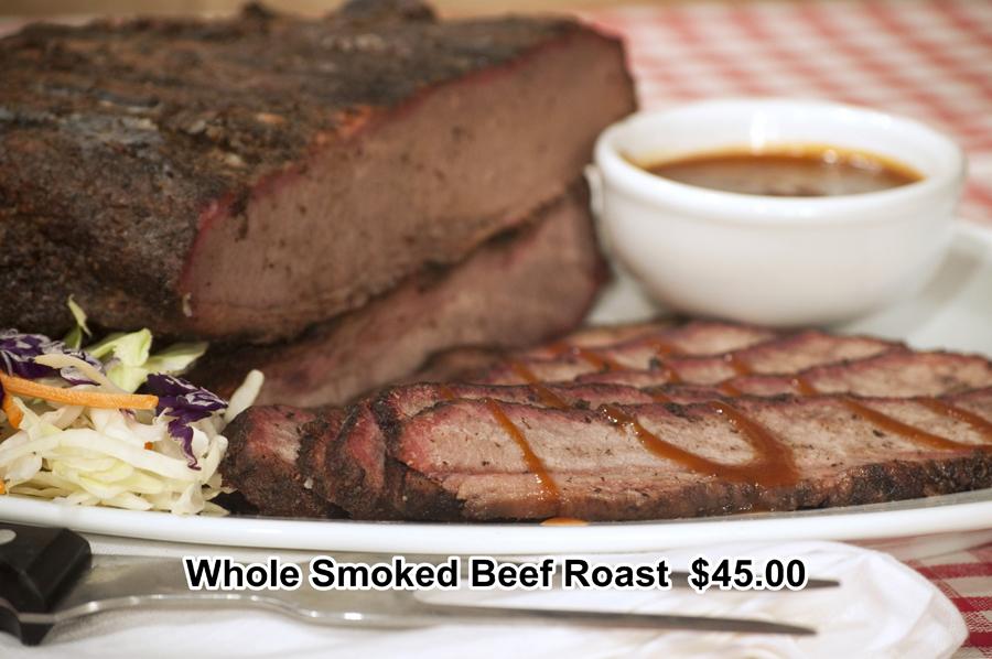 Whole Smoked Beef 2015